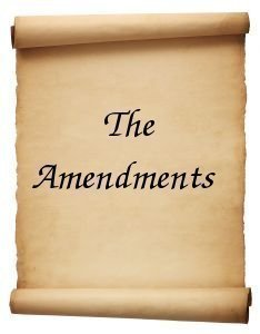 List of Amendments